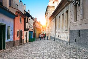vicolo d'oro Praga