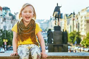 bambini a Praga